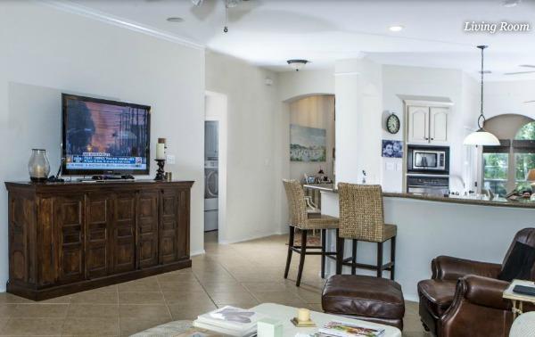 Living Room Refresh Before