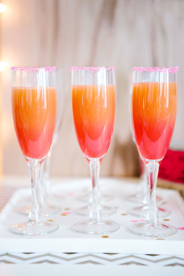 Ombre Grapefruit Cocktail - Handmade Mood