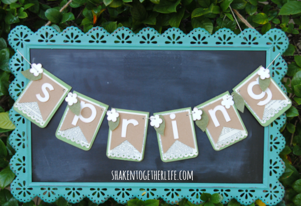 welcome-Spring-layered-paper-Spring-banner