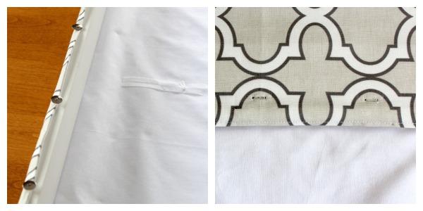 DIY Roman Shade Tutorial Step 10 - Satori Design for Living