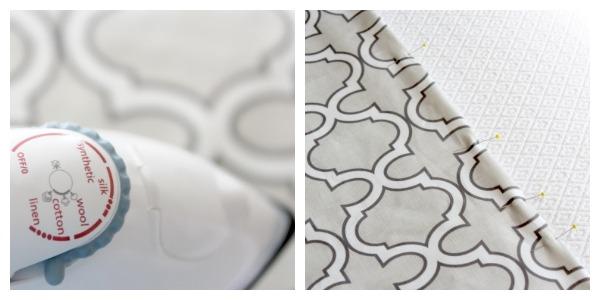 DIY Roman Shade Tutorial Step 4 - Satori Design for Living