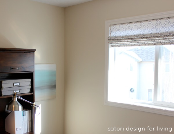 DIY  Sew + No Sew Roman Shade Tutorial | Satori Design for Living