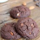 Make these sinfully rich and decadent double chocolate almond cookies. Totally worth the splurge for any self-proclaimed chocoholic!