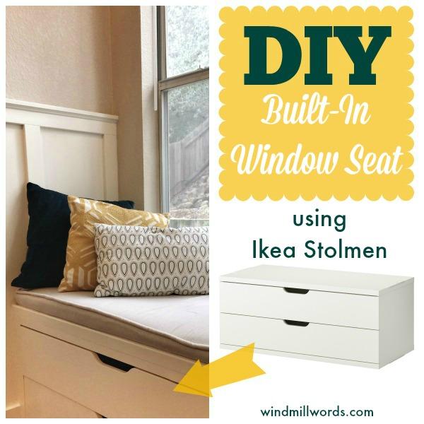 Ikea-stolman-window-seat-diy   A House in Holland