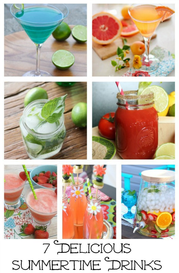 Delicious Summertime Drinks - Discover more at SatoriDesignforLiving.com