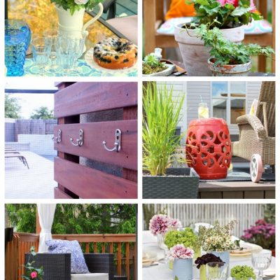 Outdoor Decorating Projects for the Outdoor Extravaganza - Satori Design for Living