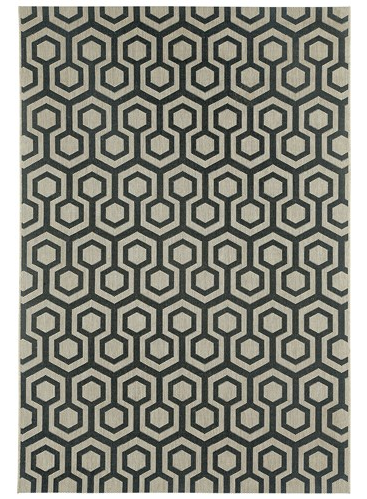 Capel Honeycombs Modern Rug - Zinc Door