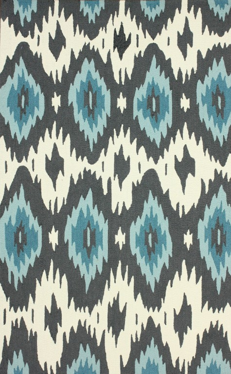 Fergana Ikat Transitional Rug - Rugs USA