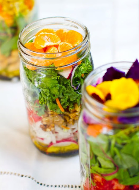 Healthy Salad in a Jar by Clean Eating Healthy Life