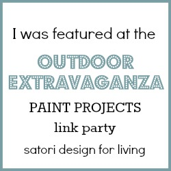 Outdoor Extravaganza Paint Projects Feature - Satori Design for Living