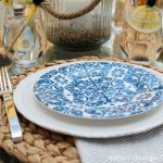 Outdoor Oasis Party - Beach Inspired Table Setting - Satori Design for Living