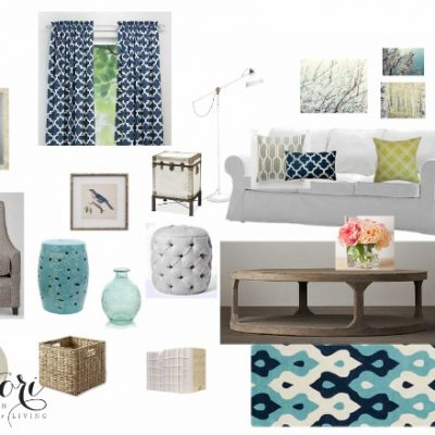 Living Room Color Palette 3 Ways