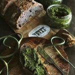 Garden to Table Recipes - Homemade Kale and Garlic Pesto by Sylvia's Simple Life