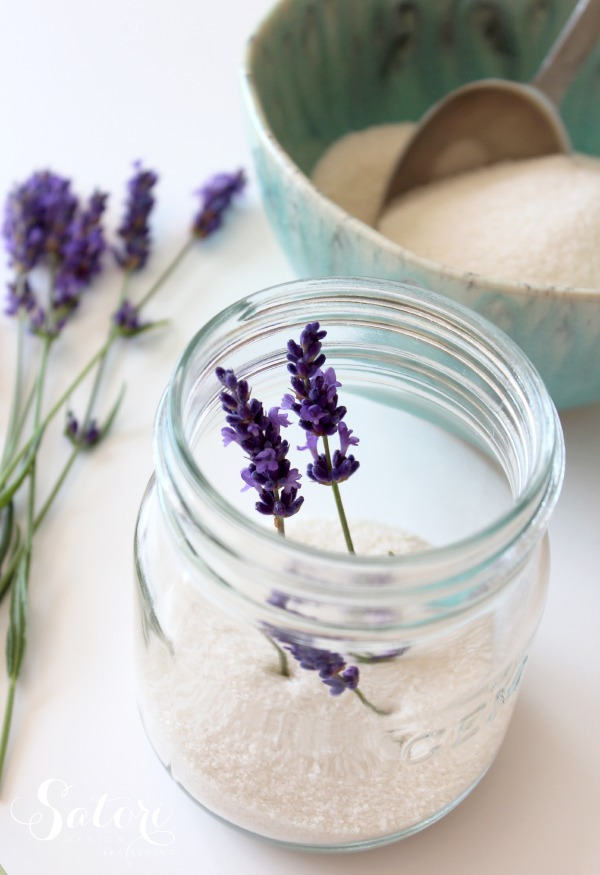 Fresh Lavender Sugar Recipe by Satori Design for Living