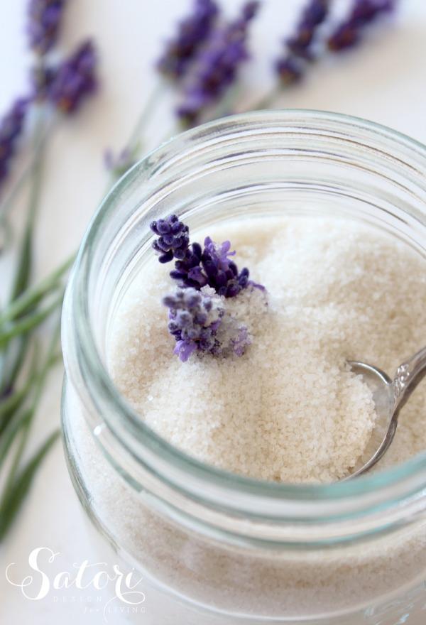 Lavender Infused Sugar | Satori Design for Living