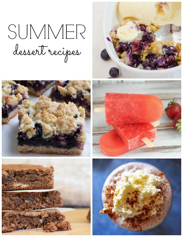 Summer Dessert Recipes - Discover more at SatoriDesignforLiving.com