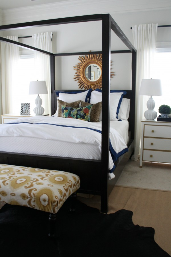Styling a Bed - Master Bedroom Emily A. Clark