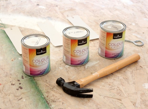 Benjamin Moore Colour Samples for Living Room Makeover - Satori Design for Living