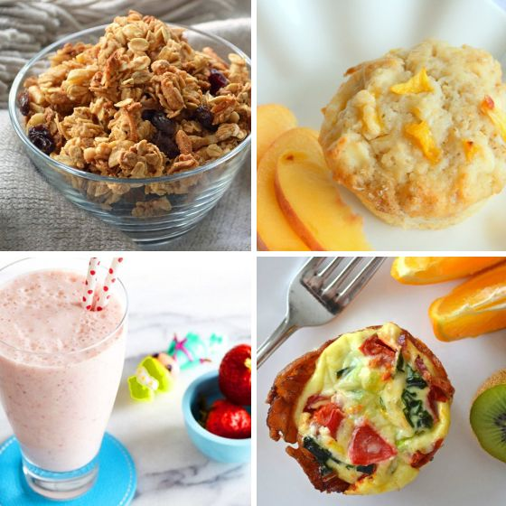 Breakfast Ideas for Kids via Savvy Mom
