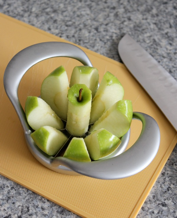 Rustic Apple Galette- Apple Slicer