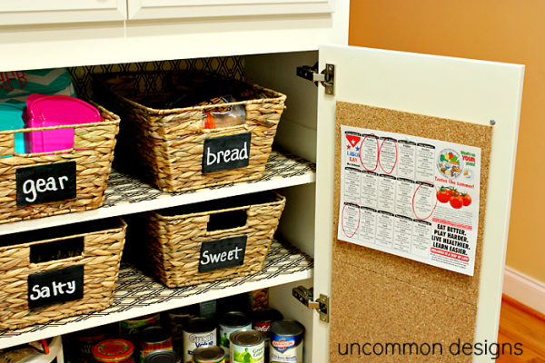 back-to-school-lunch-station via Uncommon Designs