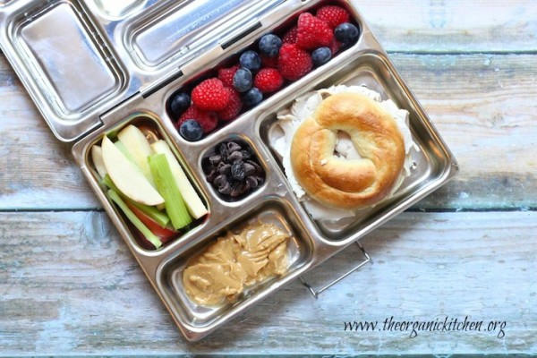 Healthy Back to School Lunch Ideas by The Organic Kitchen