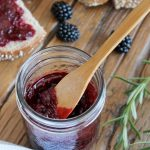 Honey & Rosemary Blackberry Jam