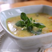Fall Comfort Food: Coconut Curry Chicken Soup
