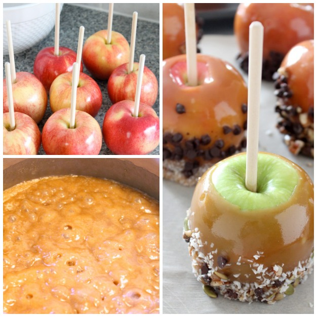 How to Make Healthier Halloween Caramel Apples | Satori Design for Living