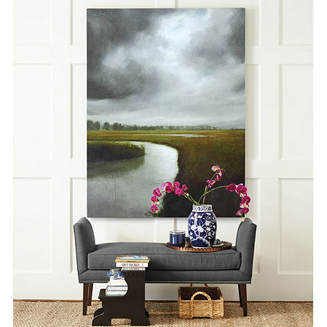 Storm Over the Marsh Giclee - Ballard Designs