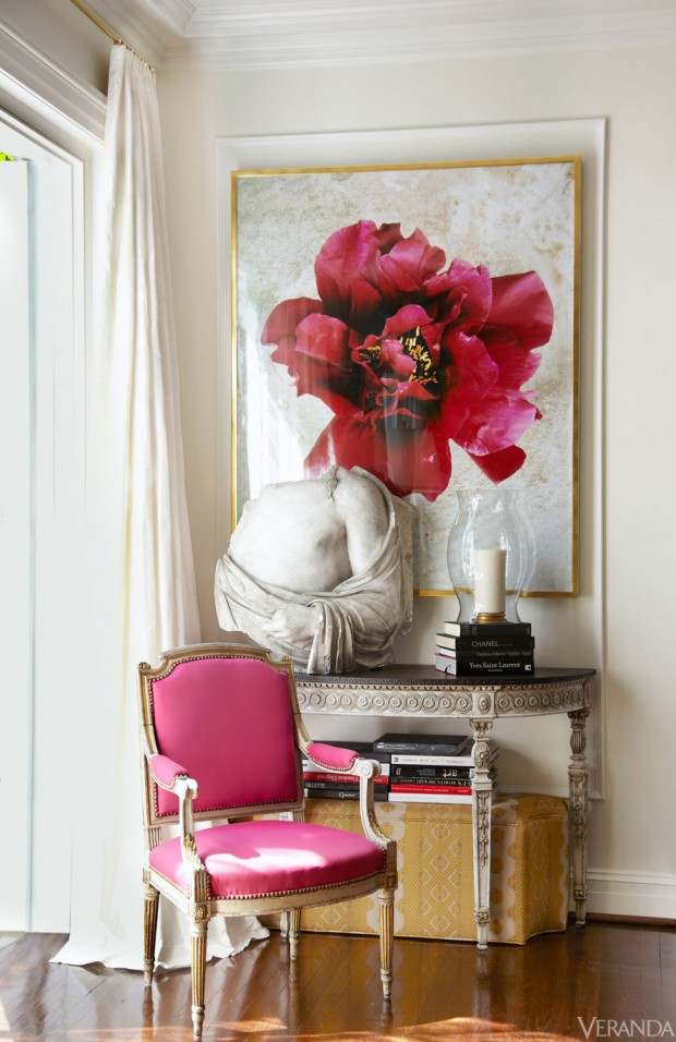 VER-RICHMOND-HOUSE-SUELLEN-GREGORY- oversized art above console table