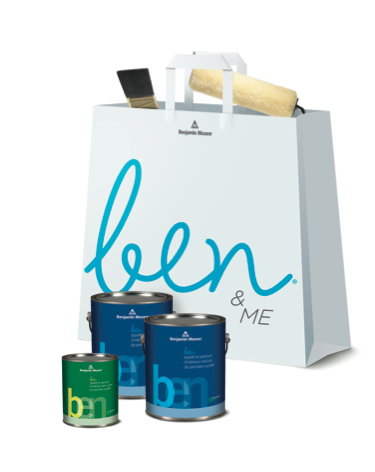ben & ME Bag - Benjamin Moore Paint Promotion