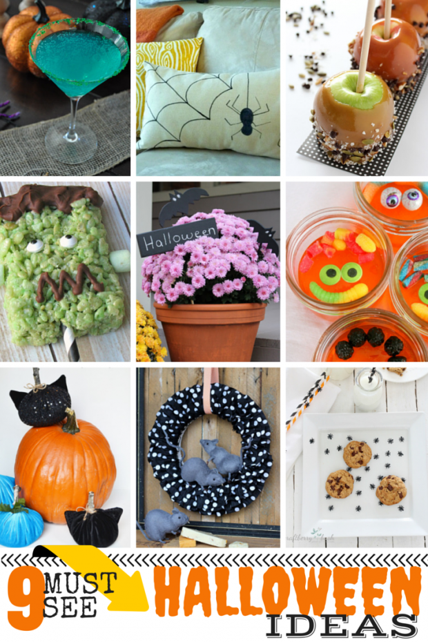 9 Halloween Projects - Discover more at SatoriDesignforLiving.com