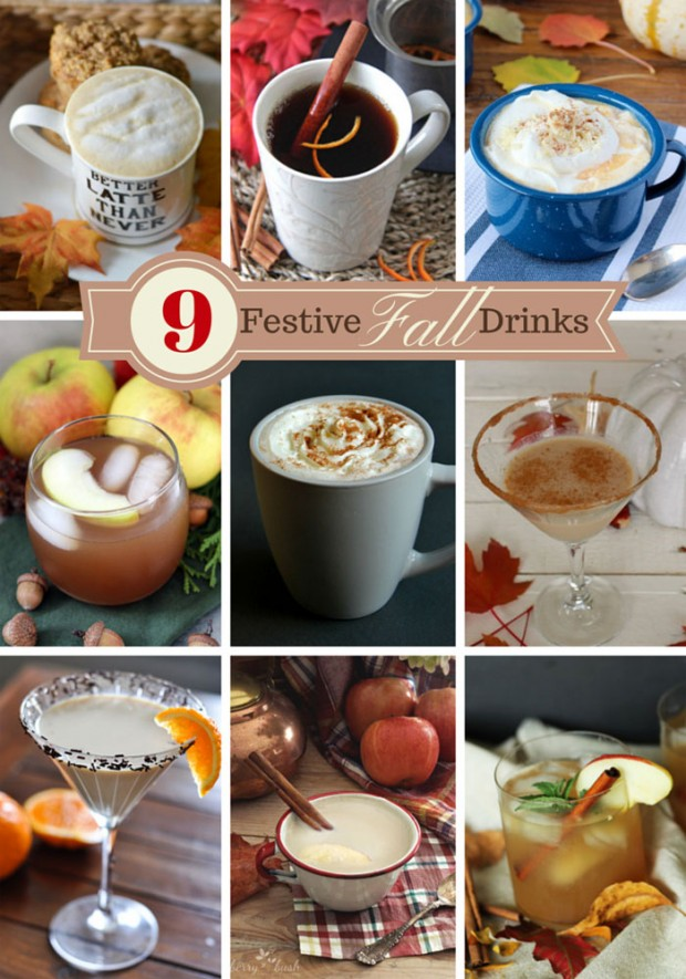 9 Delicious Fall Drinks - Discover more at SatoriDesignforLiving.com