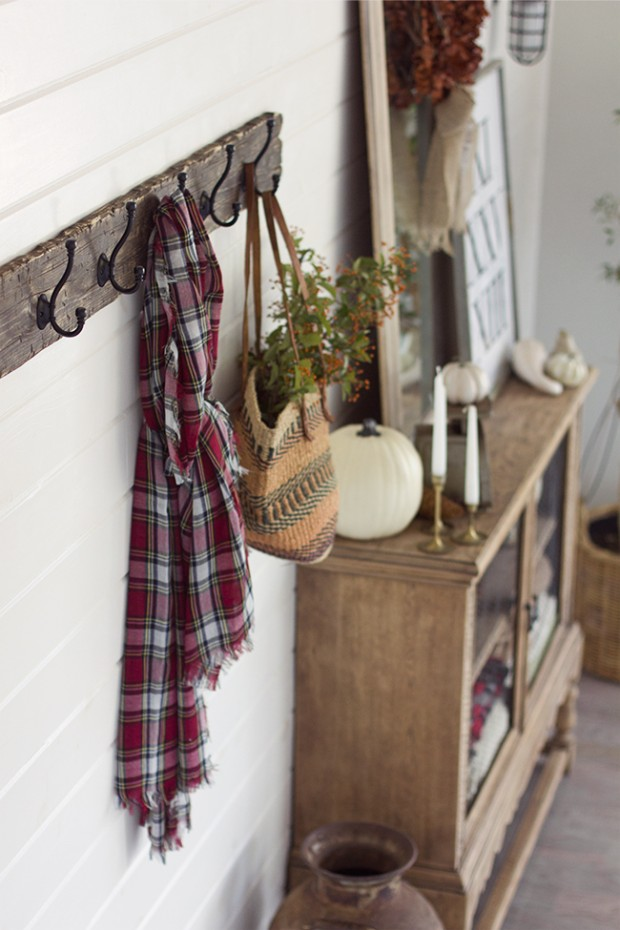 Reclaimed Wood Coat Rack - Jenna Sue