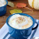 White Chocolate Pumpkin Pie Steamer