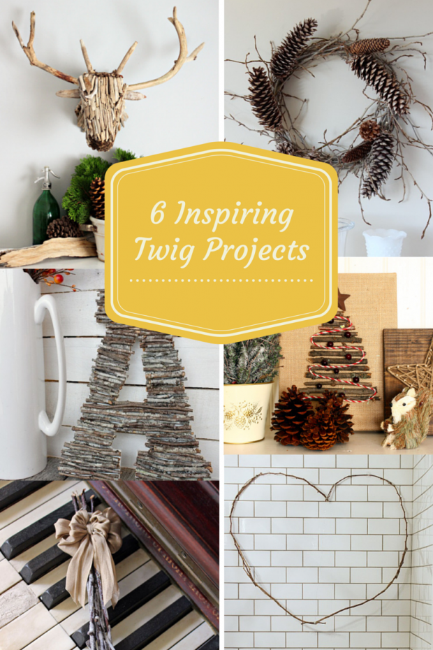 6 Inspiring Twig Projects for the One Item Project Challenge - Discover more at SatoriDesignforLiving.com