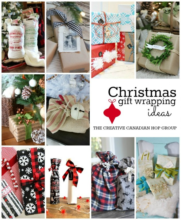 Christmas Gift Wrapping Ideas- Wrapping Paper, Bows, Tags, Bags & More!