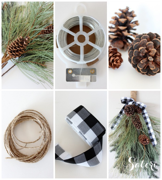 How to Make an Easy Winter Swag for Your Front Porch | Satori Design for Living