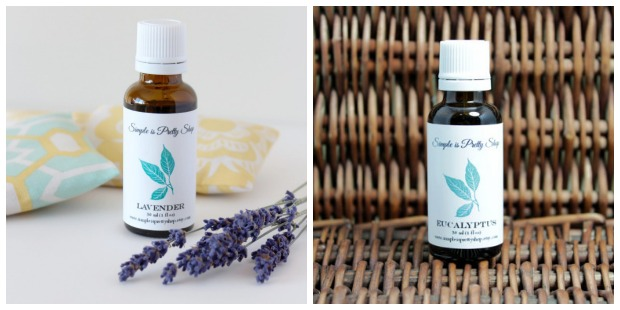 Essential Oils from Simple is Pretty Shop - Lavender & Eucalyptus