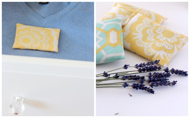 Lavender Drawer Sachets from Simple is Pretty Shop