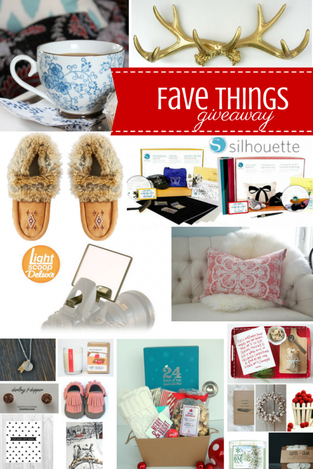 Our Favorite Things Holiday Giveaway - Hosted by Satori Design for Living