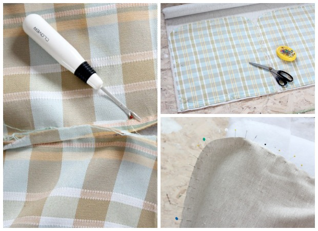 How to Reupholster an Ottoman | Satori Design for Living