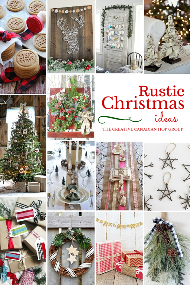 Rustic Christmas Ideas - Discover more at SatoriDesignforLiving.com