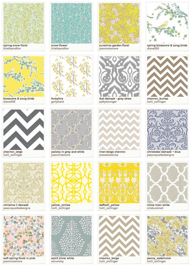 Spoonflower Wallpaper Favorites   Satori Design for Living