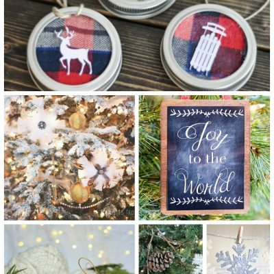 15 Beautiful Handmade Christmas Ornaments