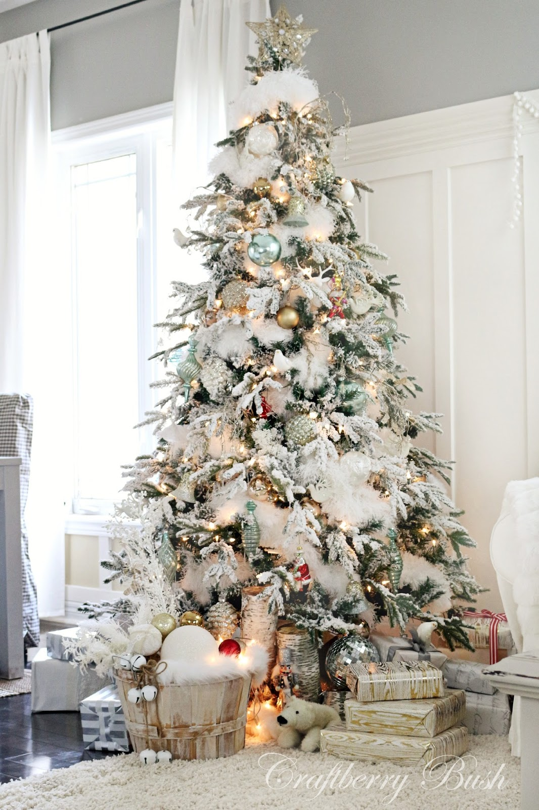 Beautiful Christmas Decorated Living Rooms Picture Window: Christmas Inspiration & Holiday Countdown Update No. 7