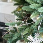 Make Your Christmas Tree Look Fuller - DIY Decorative Twig Spray Ornament for your Christmas Tree