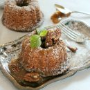 Mini Gingerbread Bundt Cakes with Salted Caramel Pecan Sauce - Satori Design for Living
