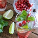 Festive Pomegranate Mojitos - Satori Design for Living